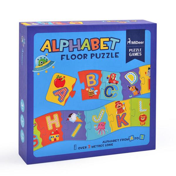 《 希臘 MiDeer 》兒童字母地板拼圖 / JOYBUS玩具百貨