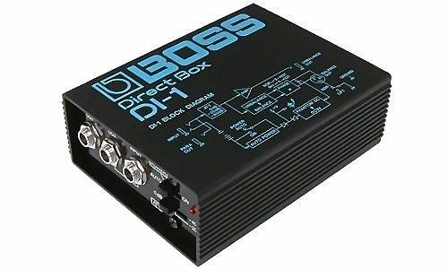 ☆ 唐尼樂器︵☆ Boss DI-1 Direct Box 平衡訊號轉換器(錄音室/現場演出必備)