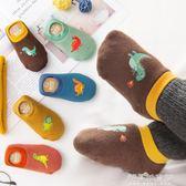 寶寶地板襪 防滑秋冬 加厚0嬰兒1學步2早教襪子鞋3歲男女純棉兒童 解憂雜貨鋪