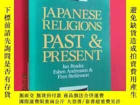 二手書博民逛書店英文罕見JAPANESE RELIGIONS PAST PRES