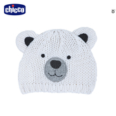 chicco-TO BE Baby-小熊造型針織帽