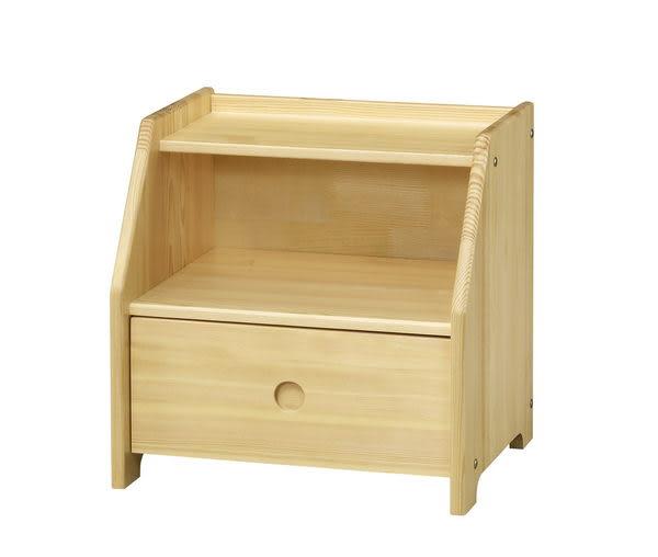 【藝匠】小博士樟子松松木一抽收納櫃 家具 組合櫃 廚具 收藏  置物櫃 櫃子 床頭櫃 實木