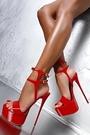 特惠 19恨天高大碼偽娘變裝情趣男士反串高跟鞋16cm涼鞋414243444546碼
