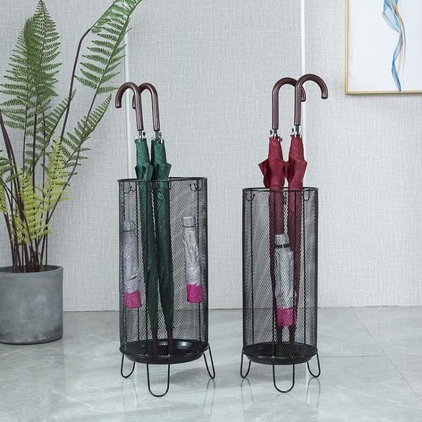 雨傘架收納桶家用酒店大堂傘筒創意門口放置雨傘的架子【白嶼家居】