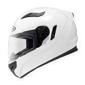 【東門城】ZEUS ZS813 白 全罩式安全帽 內藏式鏡片 內襯全可拆洗