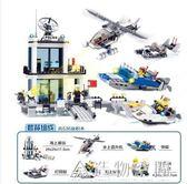 兼容樂高積木拼裝9警察局7特警城市系列汽車玩具組裝男孩子6警車 NMS造物空間