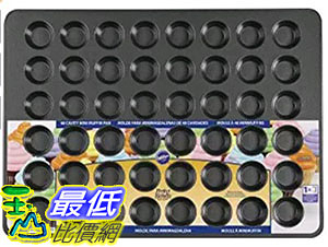 [美國直購] Wilton 2105-6746 迷你瑪芬 馬芬烤盤 Perfect Result Mega 48-Cup Mini Muffin Pan, 15x21-inch