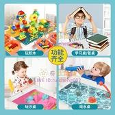 兼容樂高多功能積木桌大顆粒積木兒童玩具益智拼裝男女孩開發智力【奇妙商舖】
