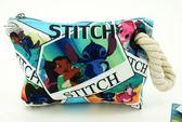 【金玉堂文具】迪士尼 Disney 星際寶貝-麻繩萬用包 TH-8010 莉蘿和史迪奇 收納包