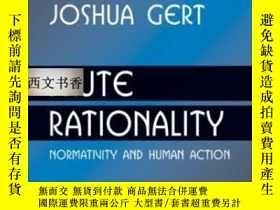 二手書博民逛書店Brute罕見Rationality: Normativity