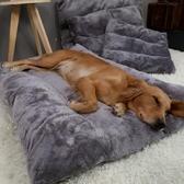 狗狗睡墊狗窩保暖大型犬被子可拆洗寵物墊子秋冬款【聚寶屋】
