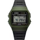 CASIO手錶 墨綠錶殼電子膠錶NECD7