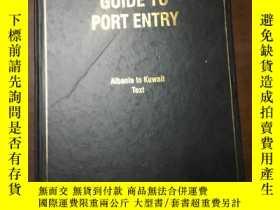 二手書博民逛書店GUIDE罕見TO PORT ENTRY 2003 2004Y1