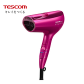 [TESCOM]白金奈米 膠原蛋白吹風機 TCD5000TW 繽紛桃