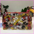 迪士尼米奇立體透明防水萬用袋(小)旅行專用夏日海灘專用收納包化妝包女衣