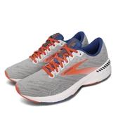 Brooks 慢跑鞋 Ravenna 11 灰 橘 男鞋 輕量透氣 運動鞋【ACS】 1103301D049