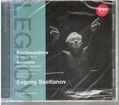 【正版全新CD清倉 4.5折】史維特蘭諾夫指揮伯恩斯坦、拉赫曼尼諾夫