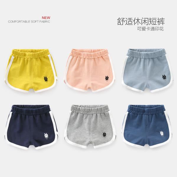 現貨 男童運動短褲熱褲 夏季童裝新款寶寶兒童1歲3小童潮款運動褲男童裝(2-8歲) 短褲