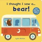 I Thought I Saw A...Bear! 熊熊玩捉迷藏 硬頁操作書