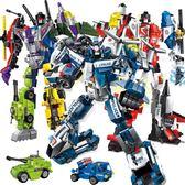組裝積木啟蒙積木兼容樂高變形機器人金剛12拼裝10玩具男孩子8益智禮物6歲