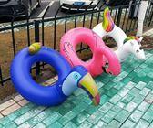 游泳圈 - 175x120cm藍色巨嘴鳥游泳圈啄木鳥大嘴鳥游泳圈水圈【韓衣舍】