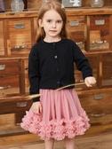 女童裝蓬蓬裙半身裙兒童女寶寶洋氣網紗公主裙tutu蛋糕 洛小仙女鞋