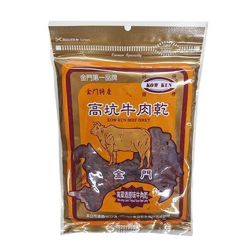 金門高坑牛肉乾-高粱酒原味180g【愛買】