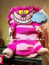 Yvonne MJA*日本迪士尼樂園正品 愛麗絲柴郡貓 Cheshire Cat隱形貓 變形毛毯