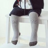柔軟超彈力簡約棉質小貓包腳褲襪 童襪 長襪 長褲 止滑襪 防滑襪 內搭褲 童裝