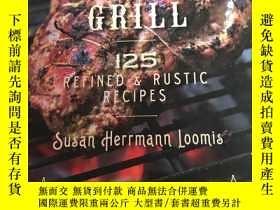 二手書博民逛書店french罕見grill 125 refined rustic recipes法國燒烤125精致鄉村食譜Y2