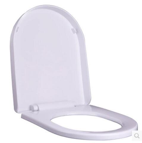 大U型小U型通用馬桶蓋加厚座便蓋pp板緩降靜音廁所老式坐便器蓋板 igo極客玩家