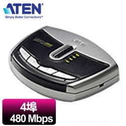 ATEN  4埠USB切換器  US421A