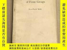 二手書博民逛書店linear罕見representations of finite groups(P3285)Y173412