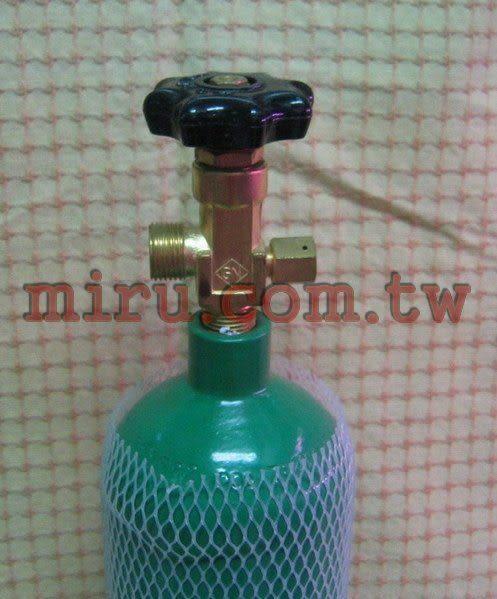 【西高地水族坊】全新雅柏UP CO2鋼瓶(2L )(2009年出廠)