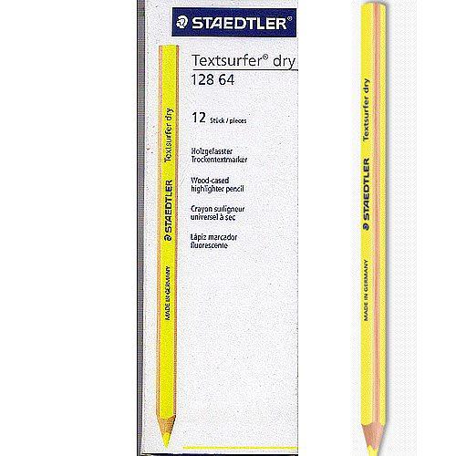 德國施德樓STAEDTLER-乾式螢光鉛筆10入*MS12864