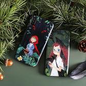 🍏 iPhoneXs/XR 蘋果手機殼 可掛繩 森林小紅帽 浮雕軟殼 i8/i7/i6sPlus/i5