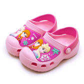 LIKA夢 Disney 迪士尼 15cm-20cm 冰雪奇緣 FROZEN 輕量兒童涼鞋 台灣製造 粉紅桃 94023 中童