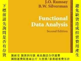 二手書博民逛書店Functional罕見Data Analysis-功能數據分析Y436638 James O. Ramsay