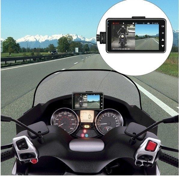 【保固一年 摩托車專用 】MT01摩托車 行車記錄儀 行車紀錄器 高清 夜視 720P 雙鏡頭 防水