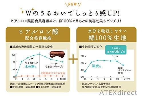 【立體絲光版】日本 LOURDES ATEX AX-KX517貓咪眼罩 眼罩 按摩 送禮 母親節【小福部屋】