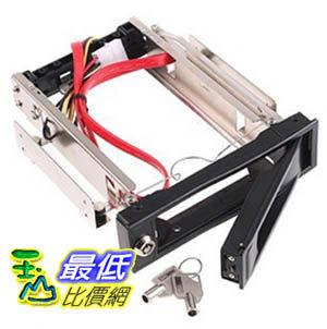 _B@[玉山最低比價網] 3.5吋 金屬 硬碟 抽取盒 SATA 介面 具有散熱風扇 可鎖住抽取盒 (20302_k221)