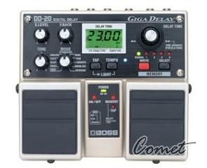 BOSS DD-20 Giga Delay 雙踏板效果器/ DD20