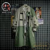 日系夾克風衣男中長款戰術機能工裝外套韓版潮流【繁星小鎮】