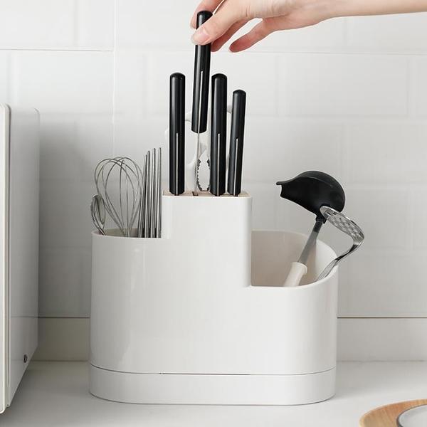 刀架刀座廚具筷子勺子置物架家用