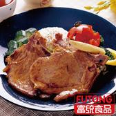 【富統食品】烤肉趣 - 黑胡椒帶骨肉排 (500g/盒;約7片)
