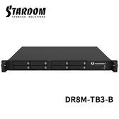 STARDOM DR8M-TB3-B 2.5吋硬碟 Thunderbolt 3 8bay 機架式 磁碟陣列硬碟外接盒