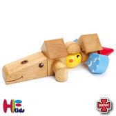 免 ~EDTOY ~動物 積木╭~JOYBUS 玩具