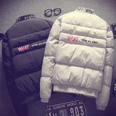 (百貨週年慶)棉衣男面包服學生韓版情侶冬季外套2018新款bf原宿風加厚夾克男裝