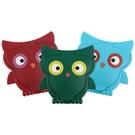 可愛貓頭鷹濕紙巾蓋(1入) 顏色隨機出貨...