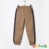 彈性輕鬆束口褲01卡其-bossini男童